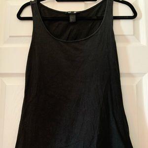 Black H&M tank top size medium